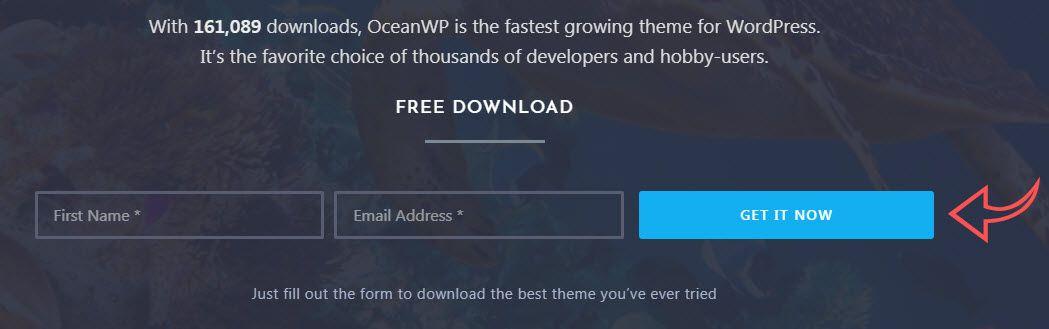 Download OceanWP compressor  - フリーワードプレスのテーマOceanWPでデモをインストールする
