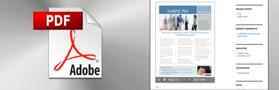 WordPress PDFビューアプラグイン3