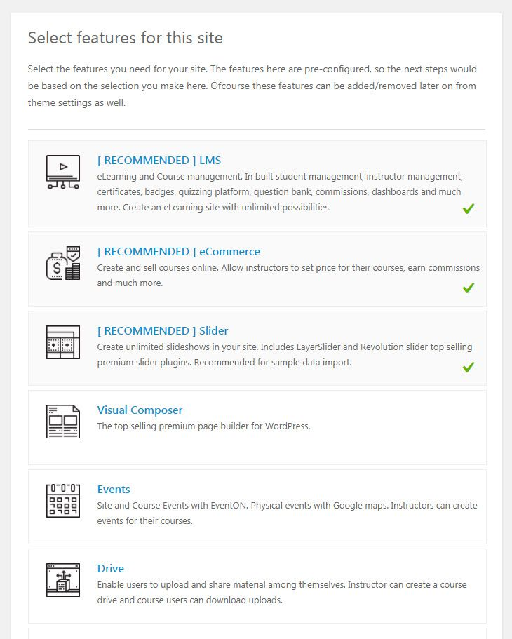 WordPress WPLMSテーマデモをインストールする15