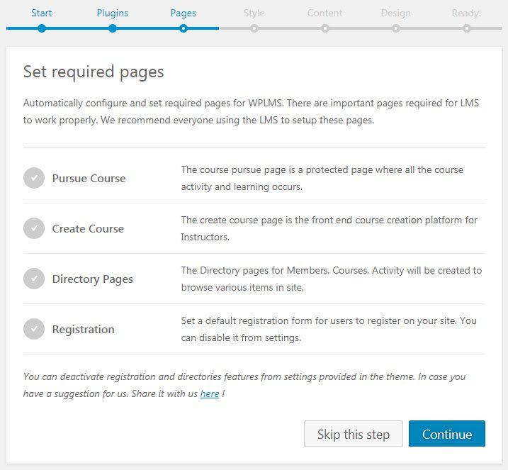 WordPress WPLMSテーマデモをインストールする17