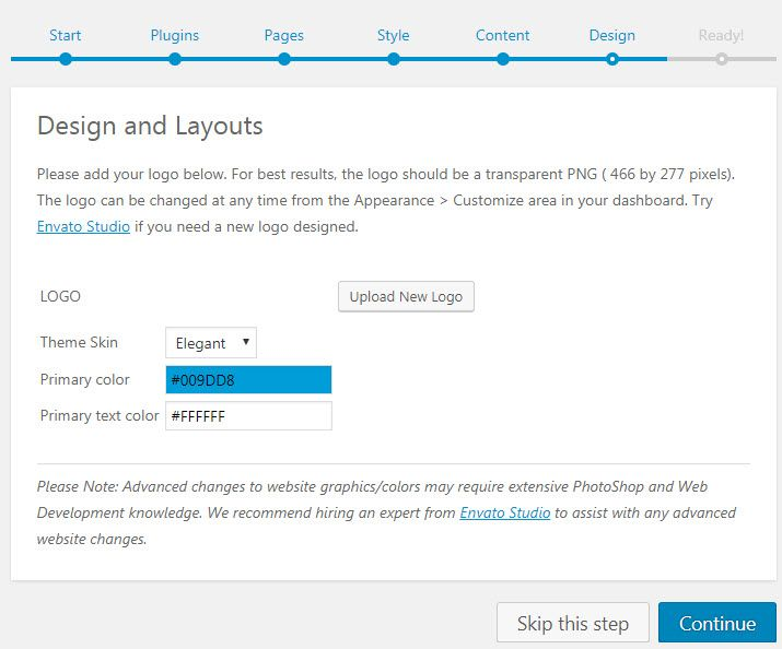 WordPress WPLMSテーマデモをインストールする20
