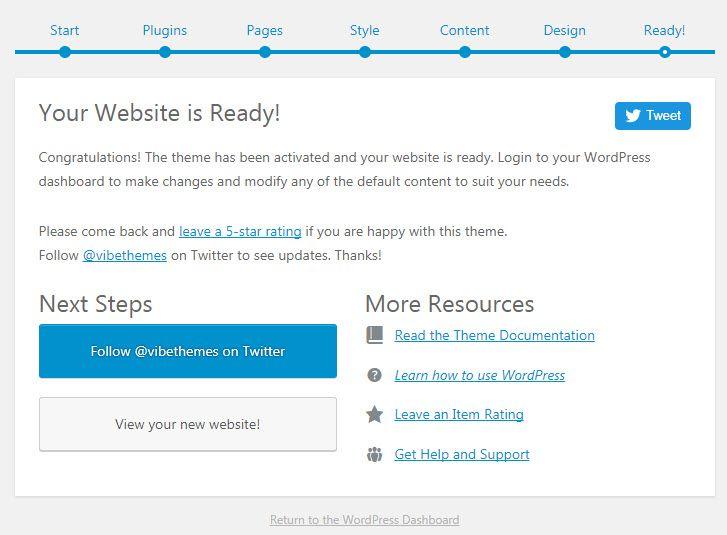 WordPress WPLMSテーマデモをインストールする21
