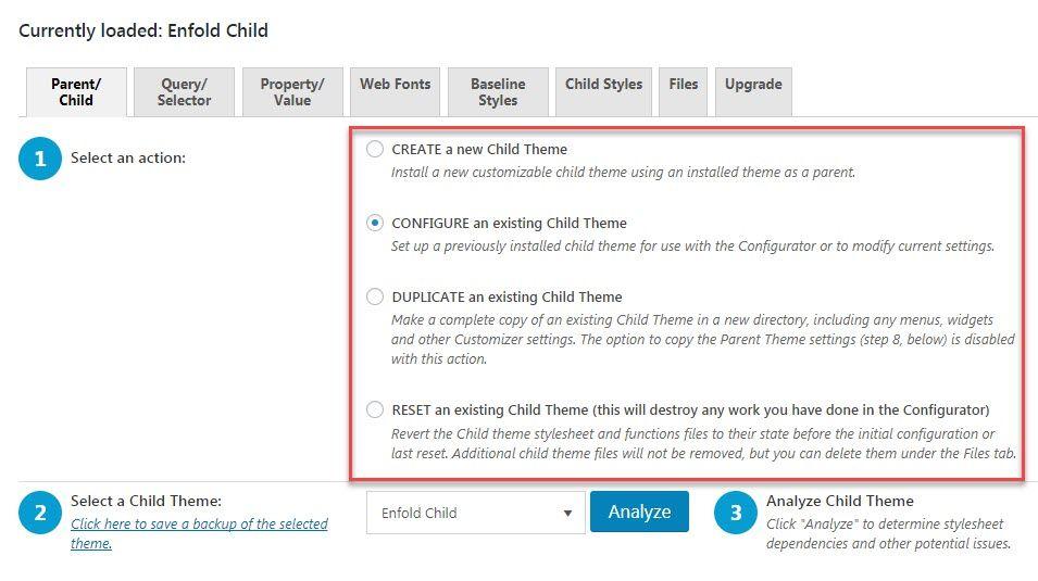 Configure Child Theme compressor  -  Child Theme Configuratorプラグインを使用して簡単にワードプレスチャイルドテーマを作成する