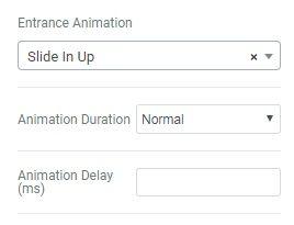 Elementorページビルダーアニメーション効果
