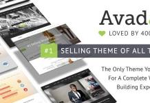 WordPress ベストセラーのテーマ Avada
