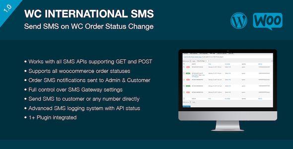 WooCommerce International SMS(WooCommerce SMSプラグイン)