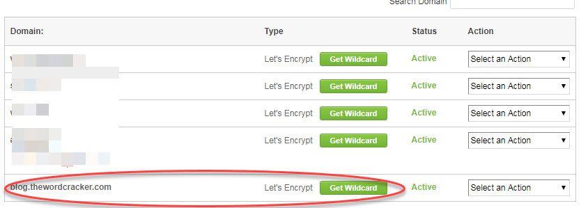 해외호스팅 사이트그라운드 Let's Encrypt SSL 인증서