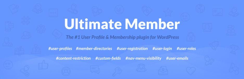 Ultimate Memberプラグイン -  WordPressのメンバーシップのプラグイン