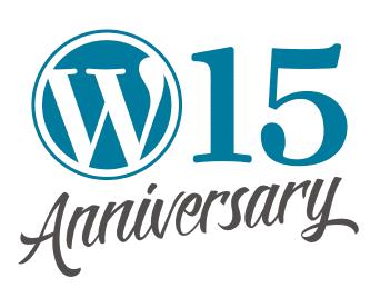 WordPress 15周年記念行事