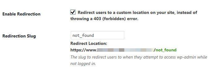リダイレクトスラグ -  WordPress ログインアドレスを隠す