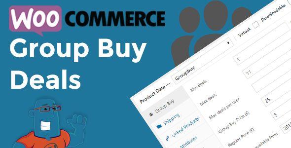 WordPress 共同購入のプラグイン -  WooCommerce Group Buy and Deals