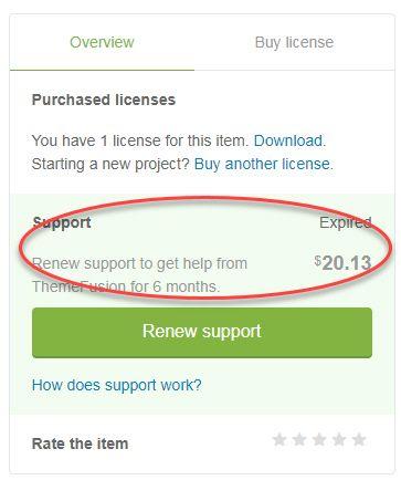 WordPress Avada テーマのサポート更新