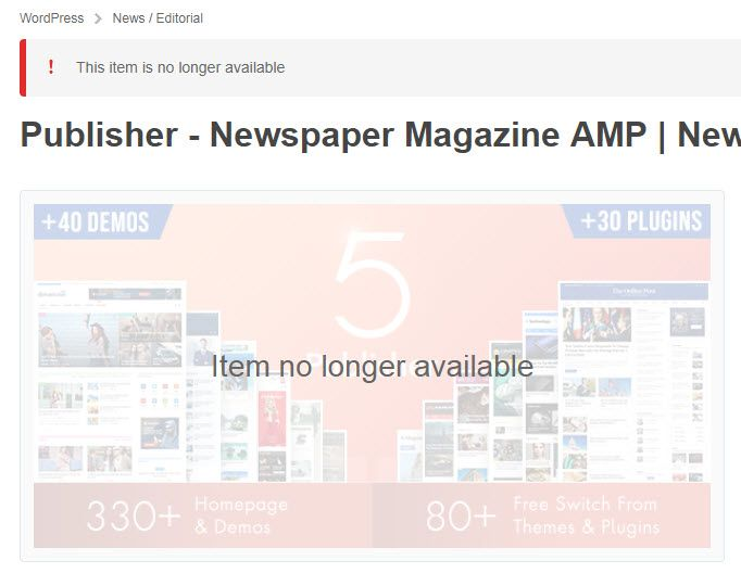 WordPress Publisherのテーマ