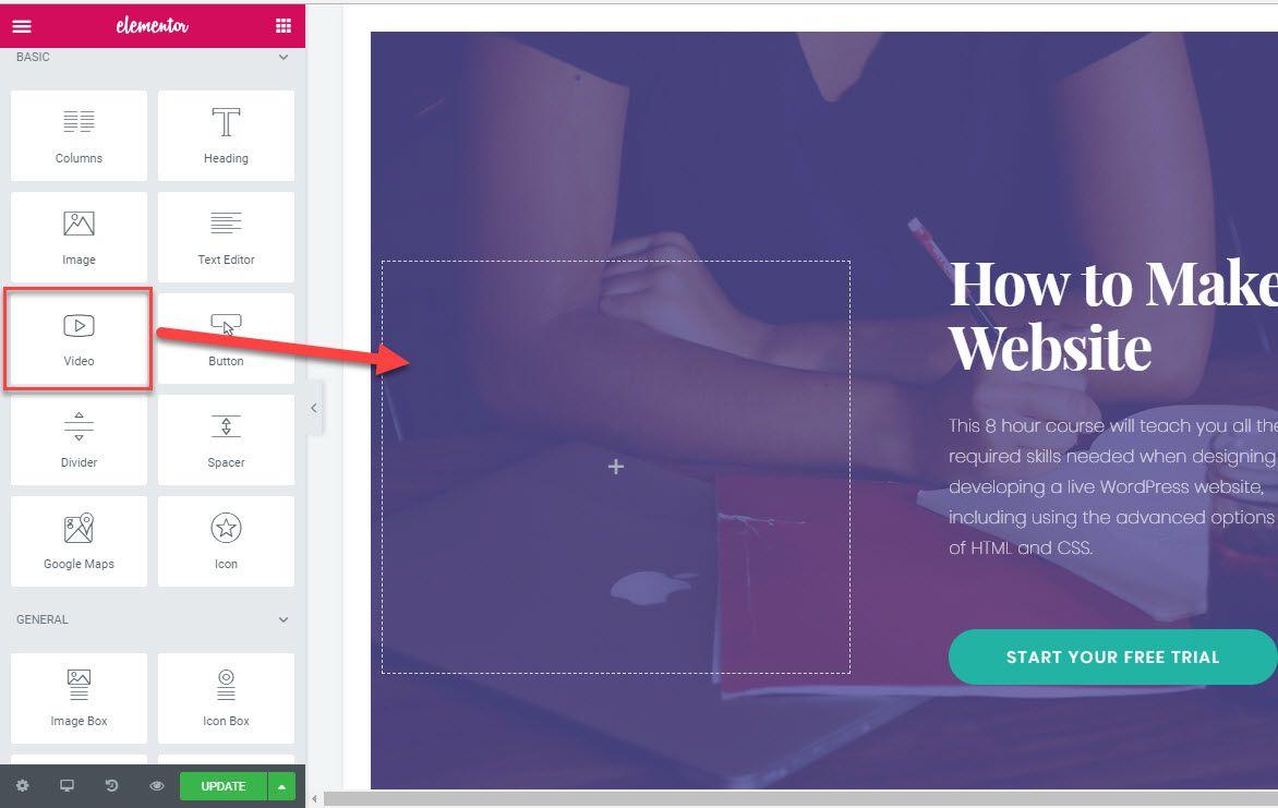 ワードプレスのページビルダーElementor