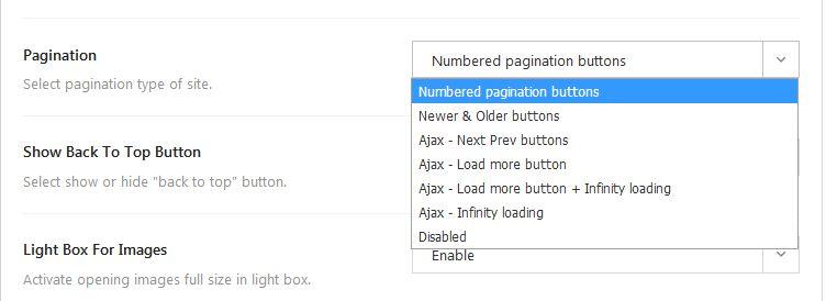 Publisherのテーマ -  Load Moreボタン