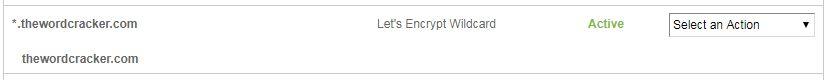 와일드카드 SSL 인증서