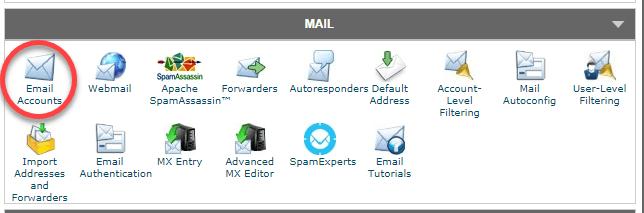 사이트그라운드 이메일 계정 만들기
