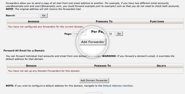 사이트그라운드 이메일 포워딩 설정하기