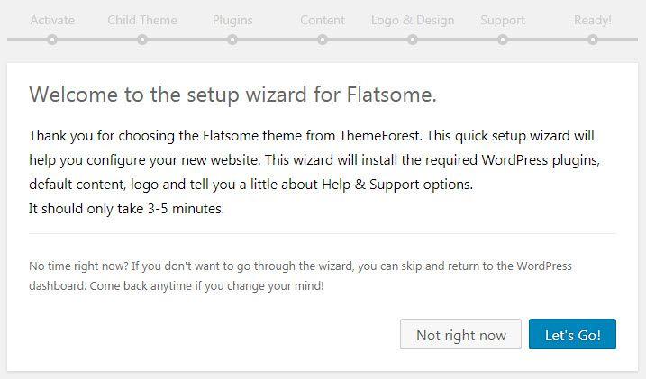 WordPress Flatsomeテーマのインストール