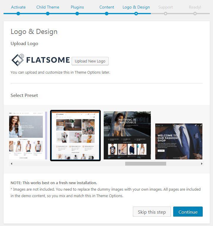 WordPress WooCommerce 専用のテーマ -  Flatsomeインストール
