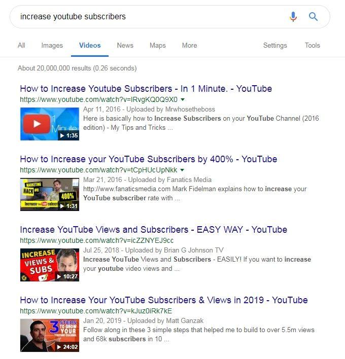 유튜브 구독자 늘리기
