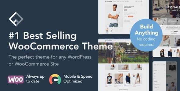 WordPress WooCommerce フラット島テーマ