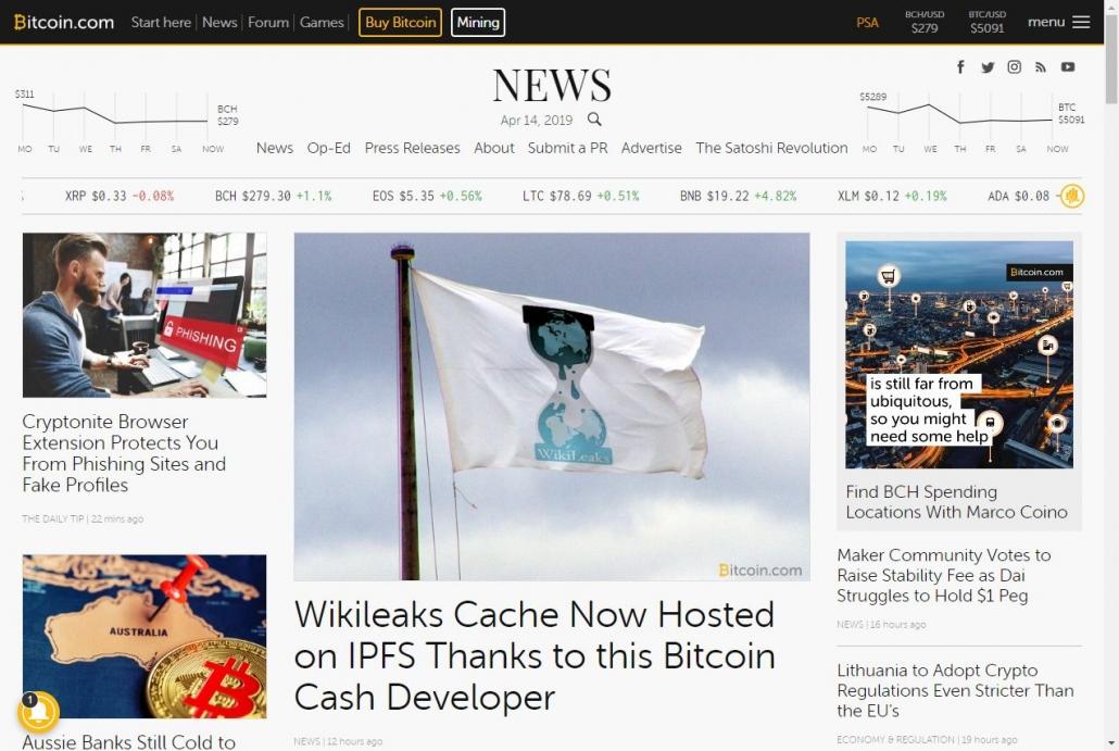 WordPress Newspaper テーマ - ビットコインニュースサイト