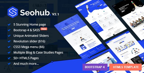 SEOhub HTMLテンプレート