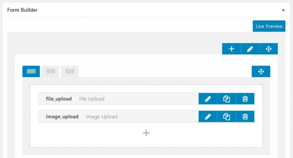 Ultimate Member 플러그인의 Form Builder 페이지
