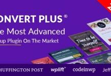 워드프레스 팝업 플러그인 Convert Plus