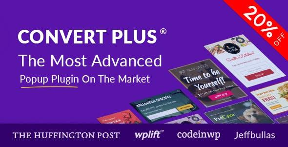 ワードプレスポップアッププラグインConvert Plus