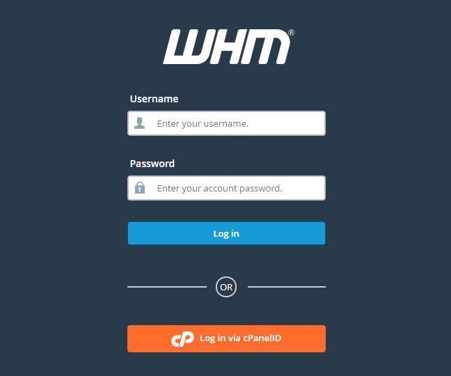 WHM 업그레이드