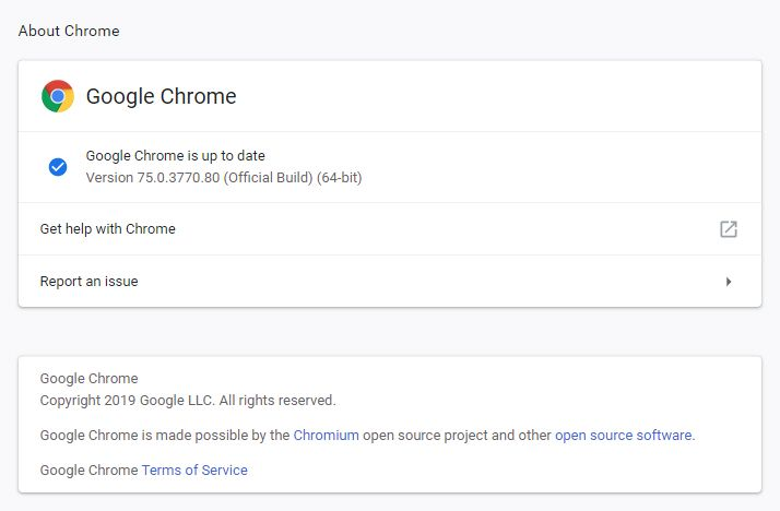 구글 크롬 영어 UI
