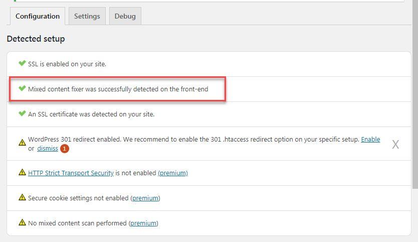 Really Simple SSL設定