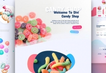 divi candy shop 218x150  -  WordPress Diviテーマ用の無料菓子店(Candy Shop)レイアウトパック