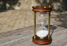 砂時計ユーチューブ時間の無駄