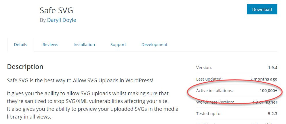 ワードプレスSafe SVGプラグイン