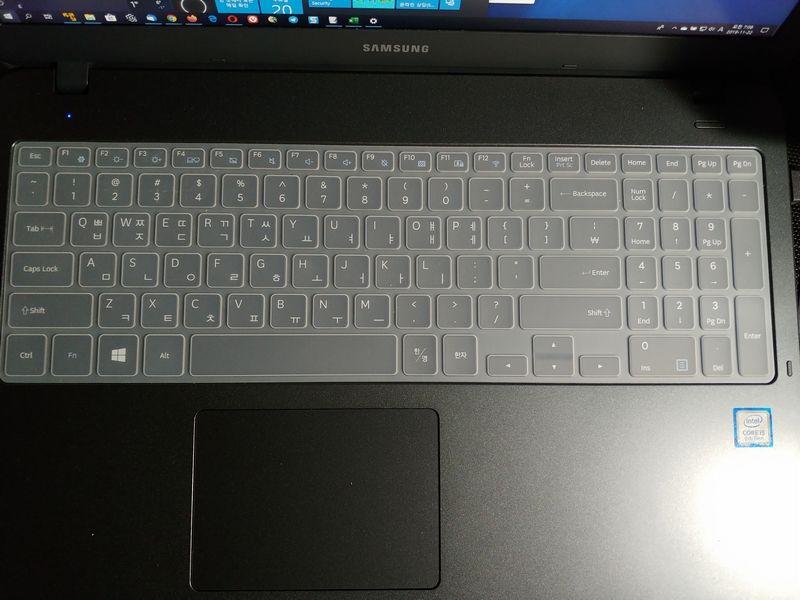 삼성전자 노트북5 NT550EBV-AD5BA - 자판