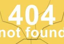 404ページフォールト