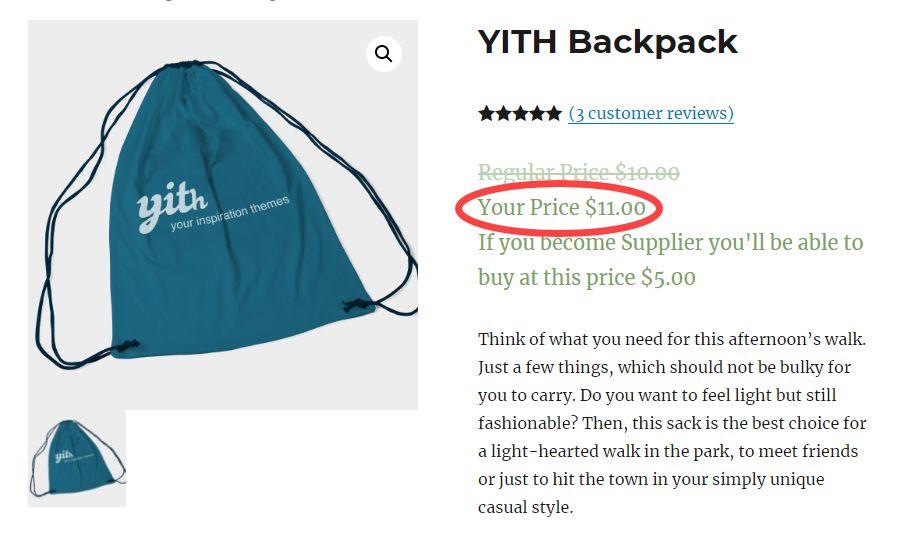 YITH price plugin compressor  - 呉コマースショッピングモールで会員の役割に応じて価格を設定するYITH WooCommerce Role Based Prices