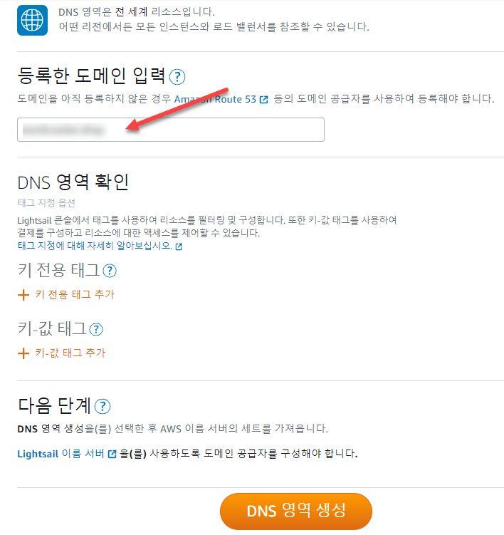 アマゾンライトセールワードプレスのインスタンスにドメイン接続