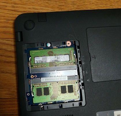 삼성전자 노트북 메모리 램 교체하기