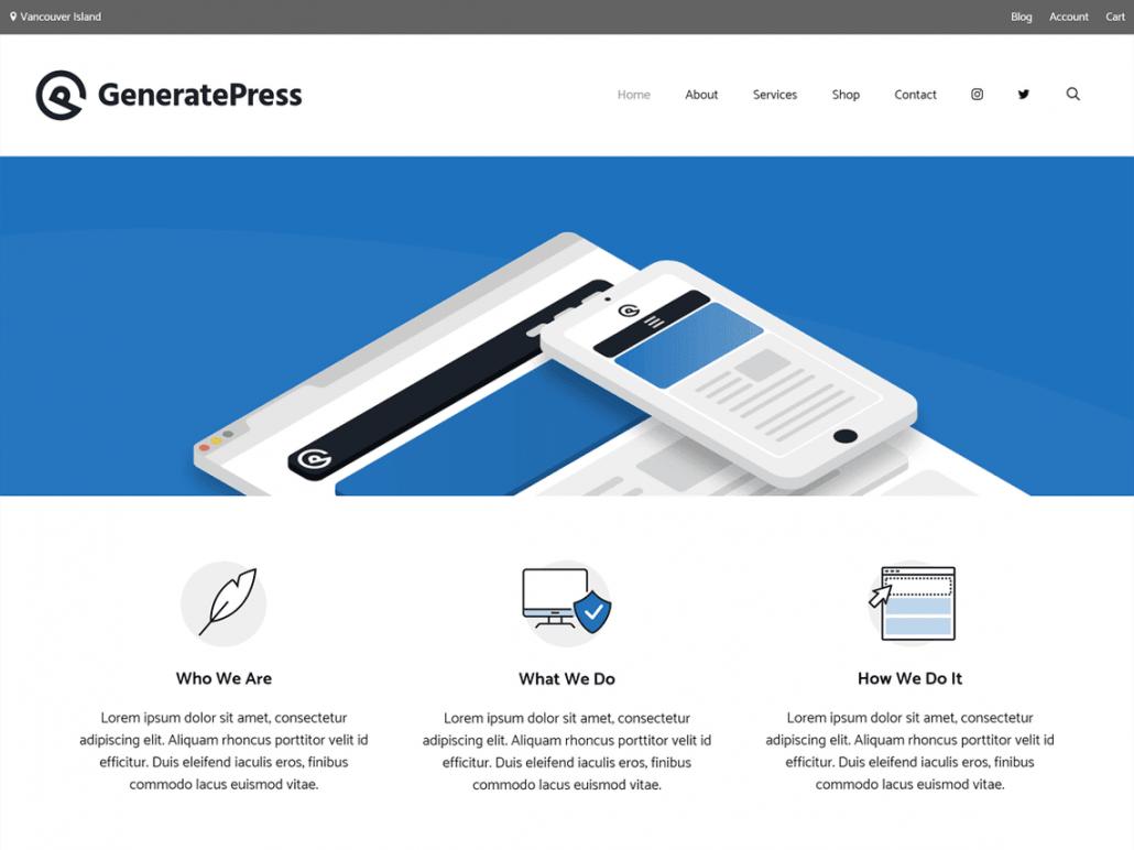 워드프레스 블로그 리뉴얼 - GeneratePress 테마