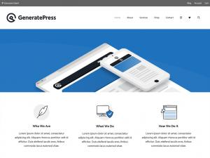 워드프레스 GeneratePress 테마 블로그 리뉴얼