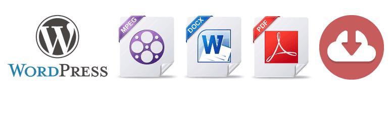 워드프레스 PDF 파일 다운로드 방법: Easy Media Download 플러그인