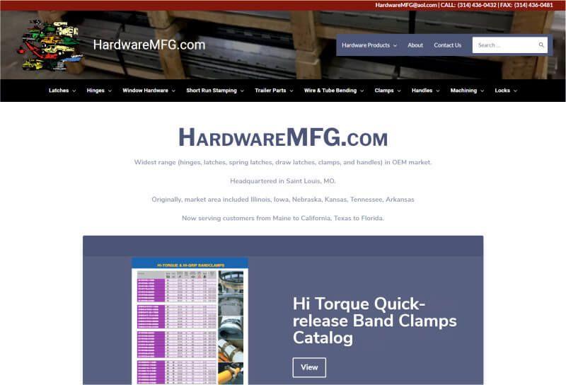 ワードプレスToolset使用サイト -  HardwareMFG.com