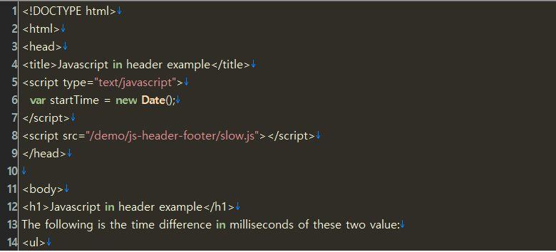 JavaScriptの位置