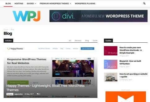 マガジンのテーマであるニュースペーパーのテーマとToolsetで製作されたワードプレスのサイト