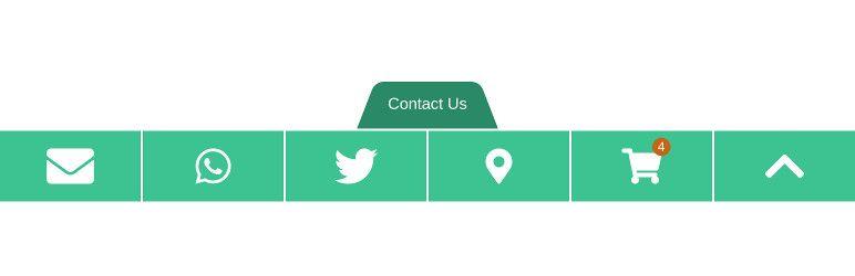 모바일 컨택트 바 플러그인 워드프레스에 연락처 표시