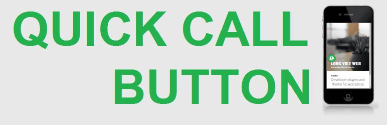 워드프레스 빠른 통화 버튼 Quick Call Button 플러그인